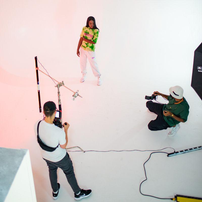 people using studio