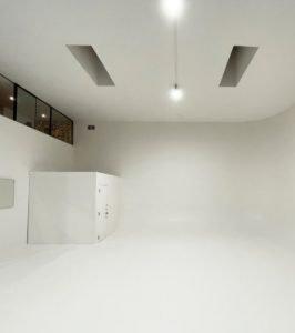 large empty studio